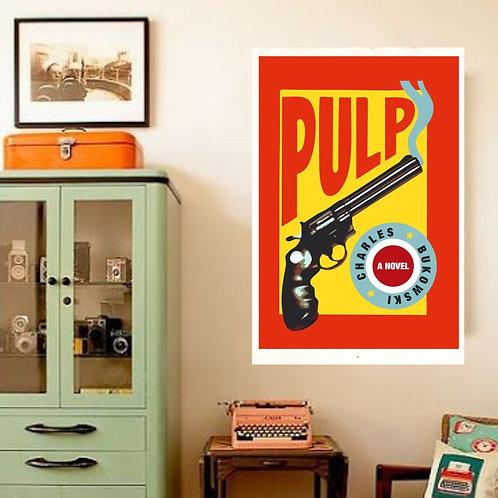 Poster Charles Bukowski - Coleção Capas de Livros