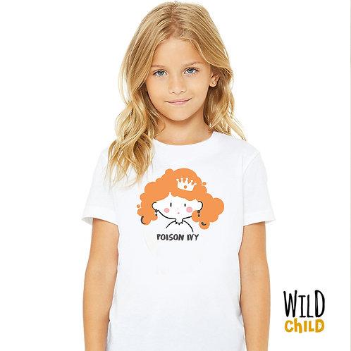 Camiseta Infantil Poison Ivy- Wild Child