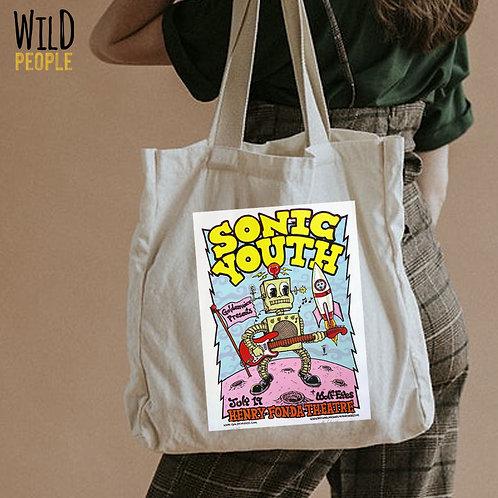 Ecobag Sonic Youth - 100 % Algodão Cru