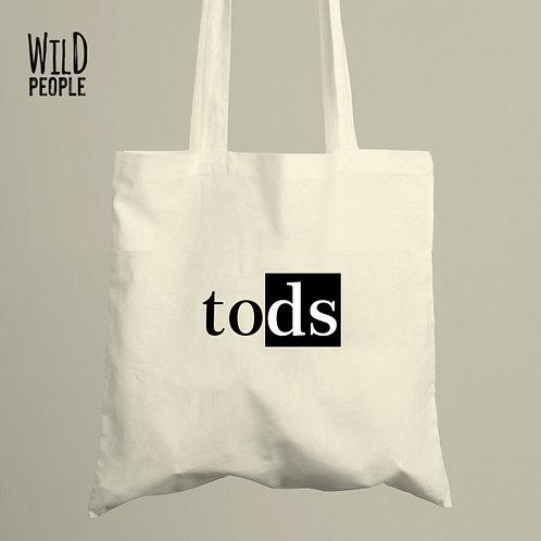 Ecobag Tods - 100 % Algodão Cru