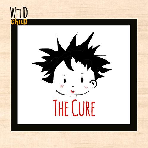 Quadro Infantil The Cure  - 20cm x 20cm
