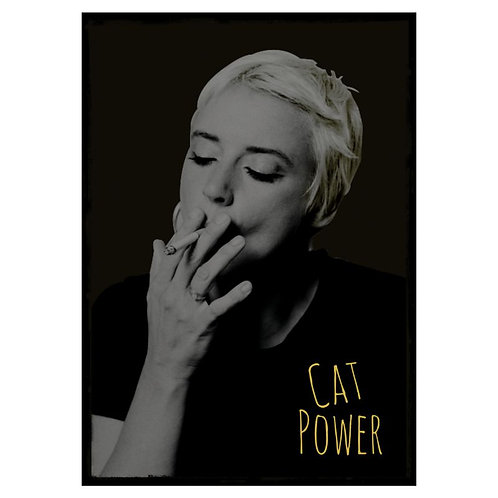 Camiseta Cat Power