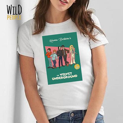 Camiseta The Velvet Underground - Hanna Barbera