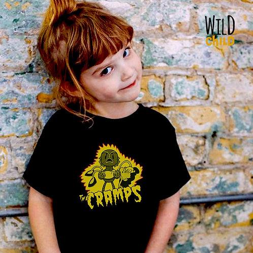 Camiseta Infantil The Cramps - Wild Child