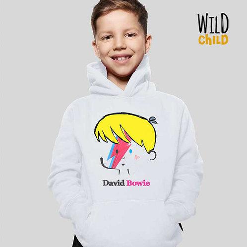 Moletom Infantil com Capuz - David Bowie - Wild Child