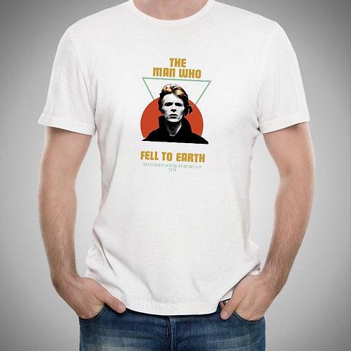 Camiseta Bowie - O Homem que caiu na Terra
