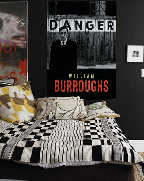 Poster William S. Burroughs - Coleção Escritores & Poetas