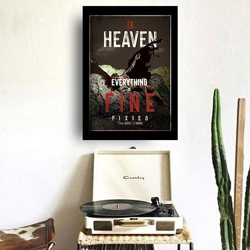 Quadro In Heaven - Pixies