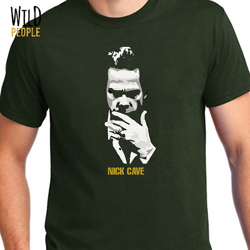 Camiseta Nick Cave - Silk Digital