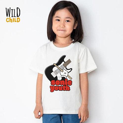 Camiseta Infantil Sonic Youth - Wild Child
