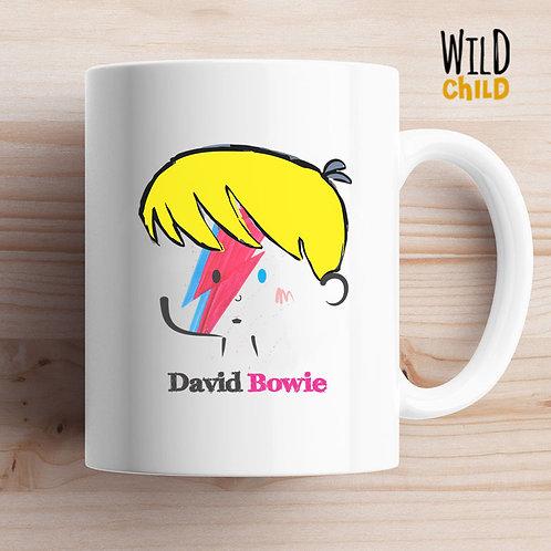 Caneca Infantil David Bowie - Wild Child
