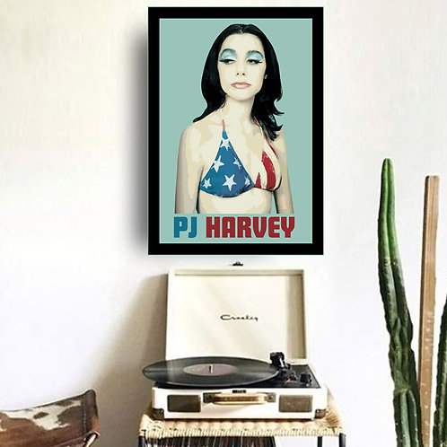 Quadro PJ Harvey