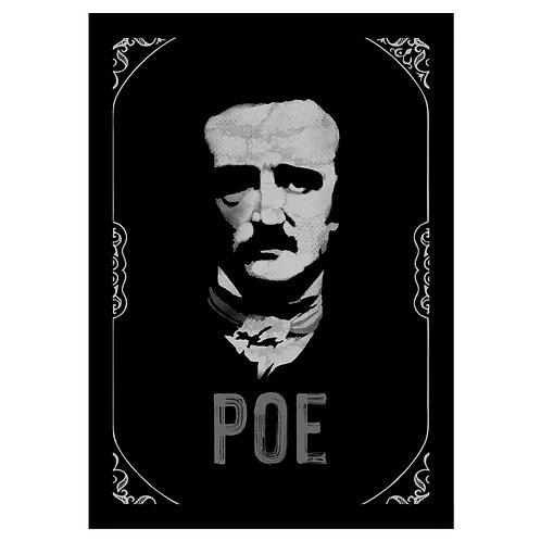 Quadro do Edgar Allan Poe
