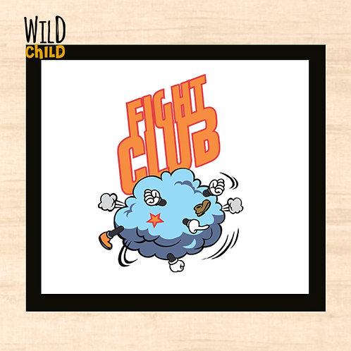 Quadro Infantil Fight Club  - 20cm x 20cm