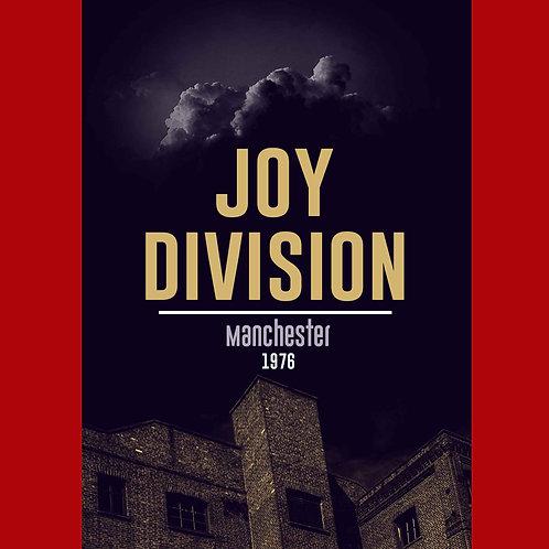 Camiseta Manchester 1976 - Joy Division