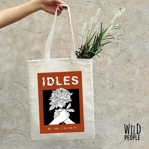 Ecobag Idles - 100 % Algodão Cru