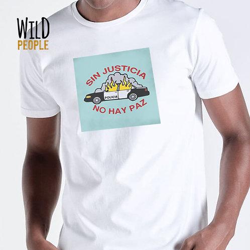 """Camiseta """"Sin Justicia no Hay Paz!"""""""