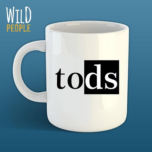 Caneca Tods - 300 ML - Porcelana