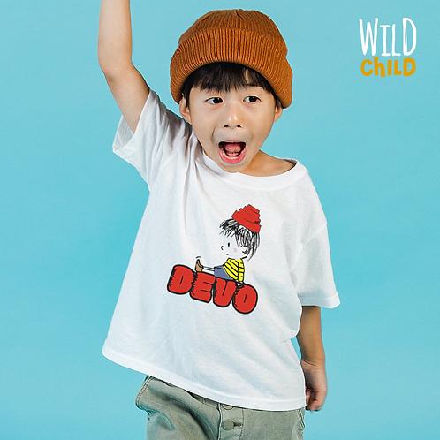 Camiseta Infantil Devo - Wild Child