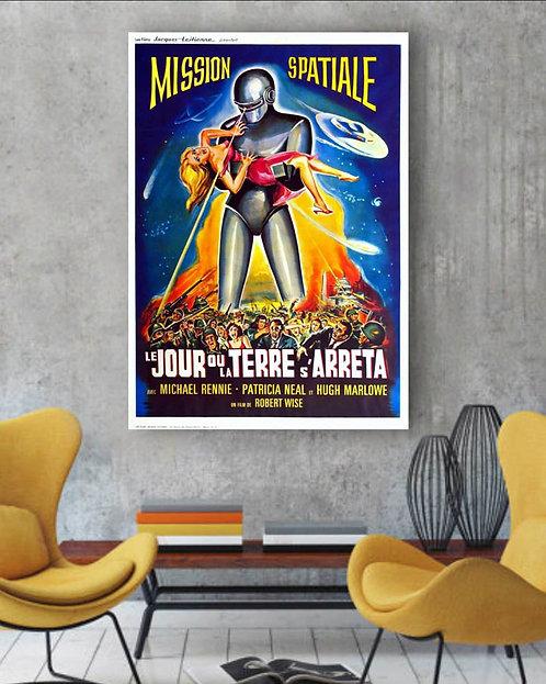Poster Filme O Dia em que a Terra Parou (1951)