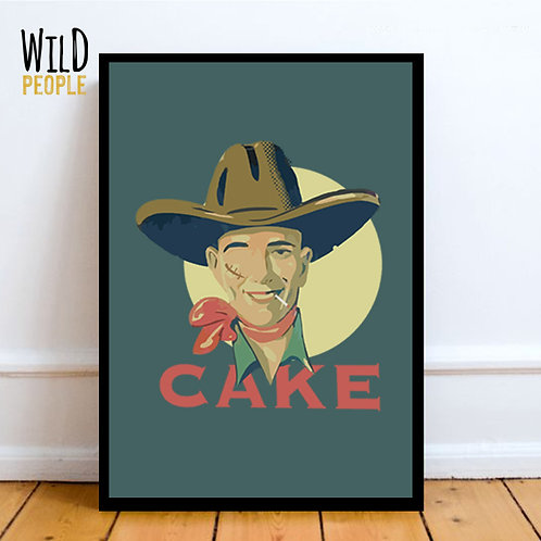 Quadro Cake - 40cm x 60cm