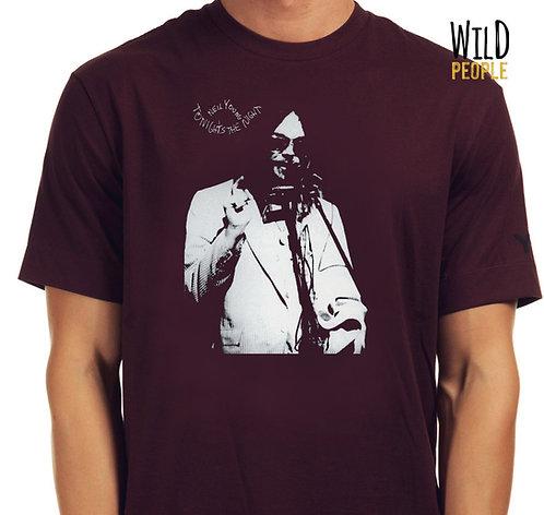 Camiseta Neil Young - Tonight's the Night