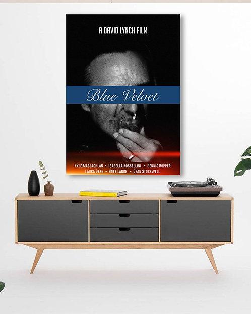 Poster Blue Velvet Movie