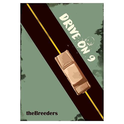 Camiseta The Breeders - Drive on 9