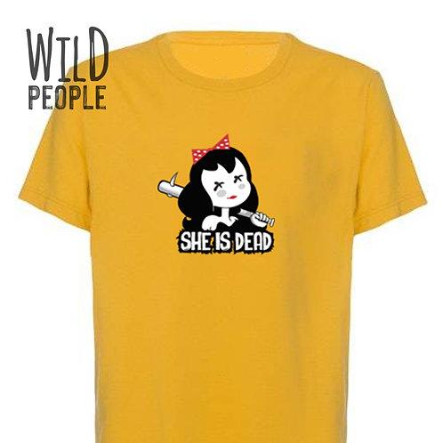 Camiseta She is Dead