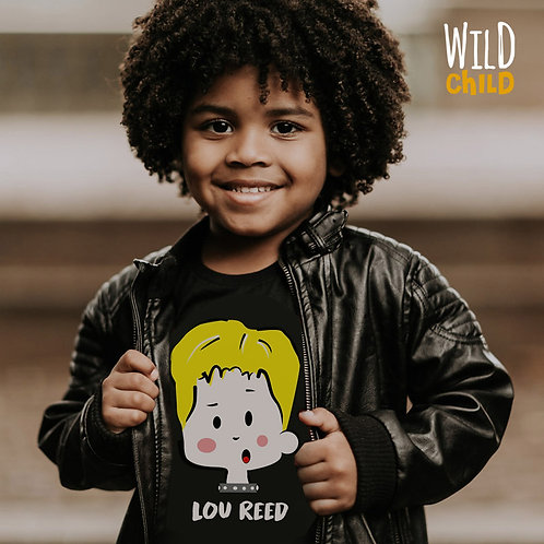 Camiseta Infantil Lou Reed - Wild Child