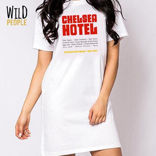 Vestido Chelsea Hotel - Silk Digital