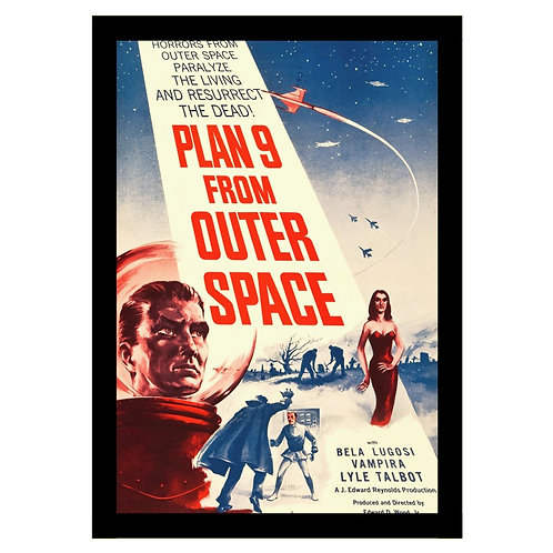 Quadro do Filme Plan 9 from Outer Space