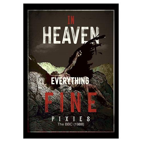 Camiseta In Heaven - Pixies