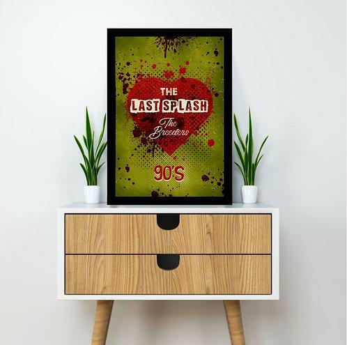 Quadro The Breeders - The Last Splash