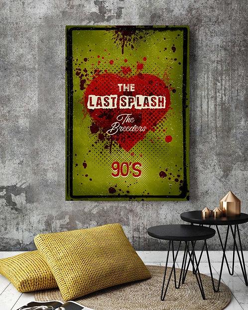 Poster The Breeders - The Last Splash