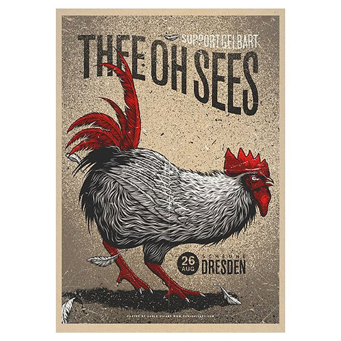 Camiseta Thee Oh Sees