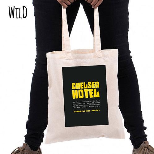 Ecobag Chelsea Hotel - 100% Algodão Cru