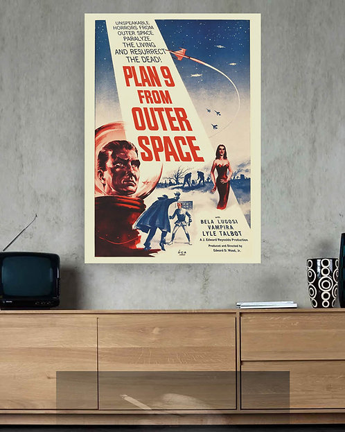 Poster Filme Plan 9 from Outer Space