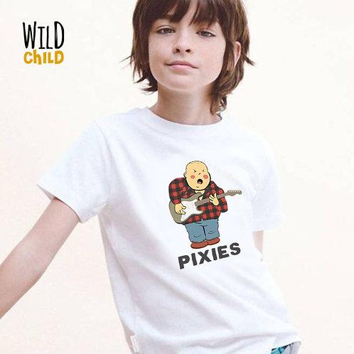 Camiseta Infantil Pixies - Wild Child