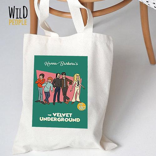 Ecobag Velvet Underground - Hanna Barbera - 100% algodão