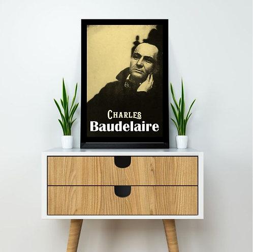 Quadro Charles Baudelaire