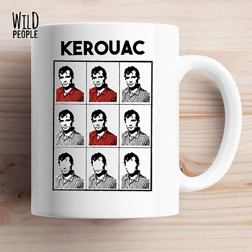 Caneca Jack Kerouac
