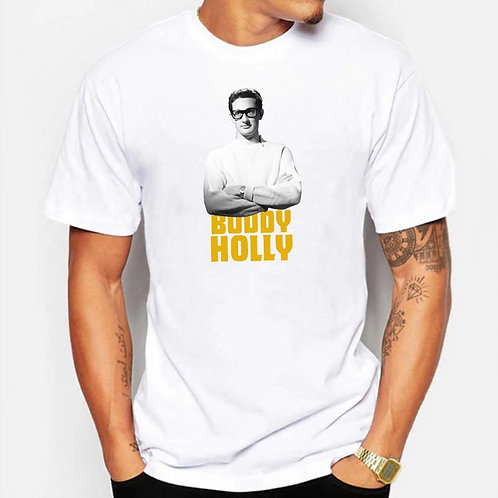 Camiseta Buddy Holly - Coleção 50's