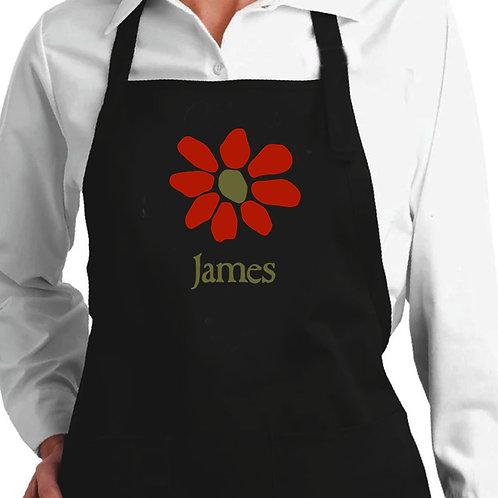 Avental Bordado James