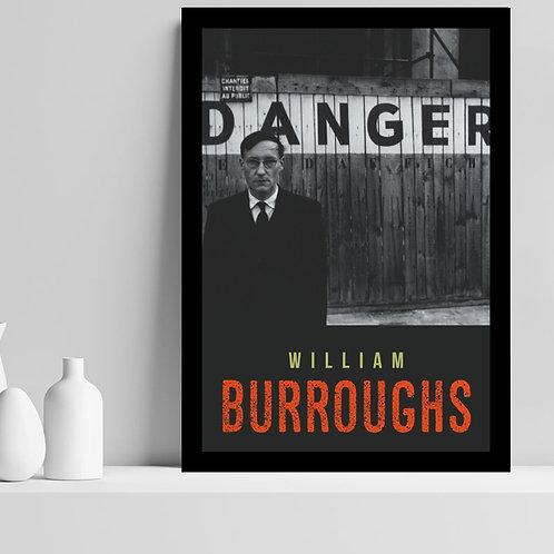 William Burroughs - 40 cm  x 60 cm