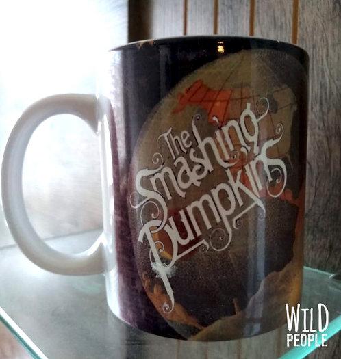 Caneca Smashing Pumpkins - Porcelana 300 ML