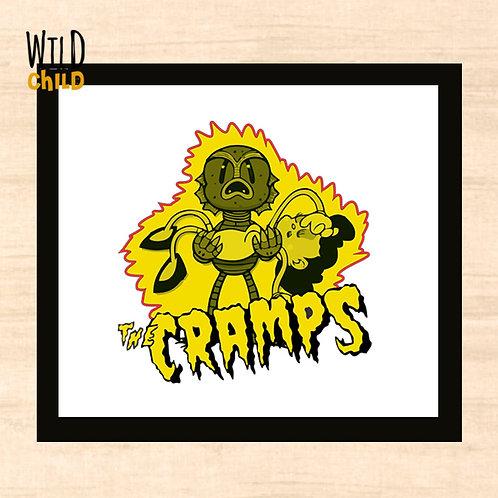 Quadro Infantil The Cramps - 20cm x 20cm