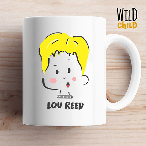 Caneca Infantil Lou Reed - Wild Child