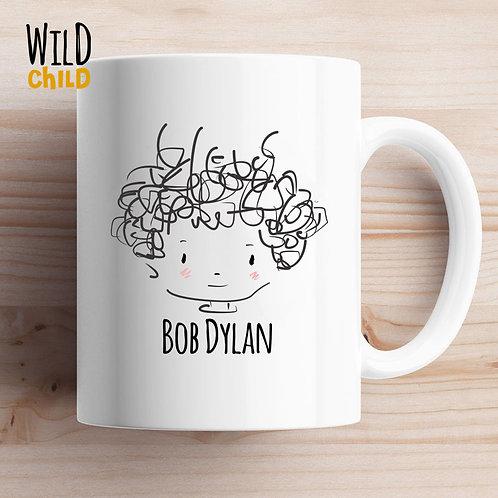 Caneca Infantil Bob Dylan - Wild Child