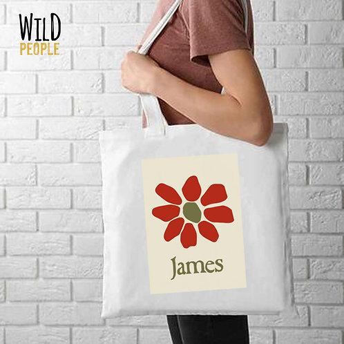 Ecobag James - 100 % Algodão Cru
